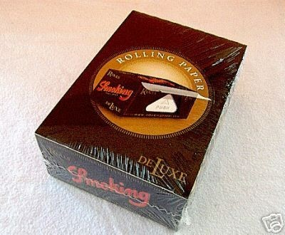 SMOKING Papers Rolls de LUXE, 1 Rolle á 4 m x 40 mm