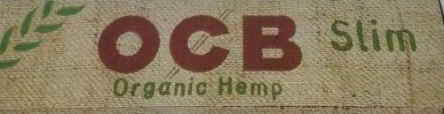 OCB Organic Hemp Slim Smoking Papers 1 Heftchen