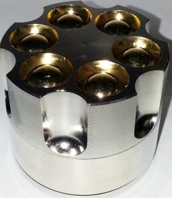 Bullet Grinder Big 3 Teilig, 5 cm x 4,5 cm