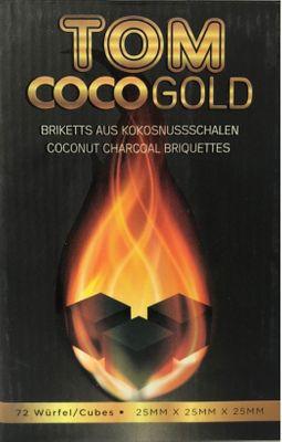 TOM Coco GOLD Kohle aus Kokosschalen 1kg Box