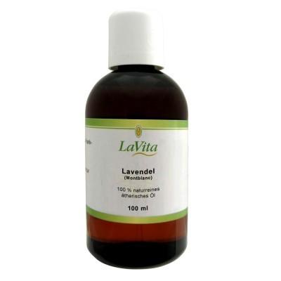 LaVita Lavendelöl Montblanc 100 ml, 100% Naturrein