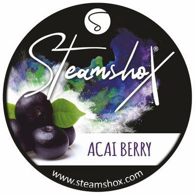 SteamshoX® Acai Berry, Dampfsteine 140g Steingranulat (Steam Stones), nikotinfreier Tabakersatz