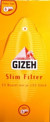 Gizeh Slim-Filter 1 BOX