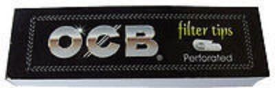 OCB Filter Tip, 1,8 cm x 6,0 cm, 1 x 50 Blättchen