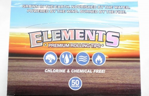 Elements Rolling Tips unperforiert, Box 50 x 50