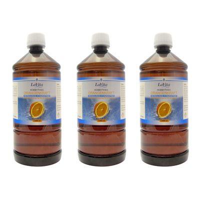 Orangenkraft HT 3 x 1,0 Liter Reiniger der Hobbythek