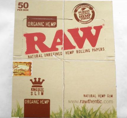 25 x 32 RAW Organic Hemp Booklet Natural Unrefined Hemp Rolling Papers