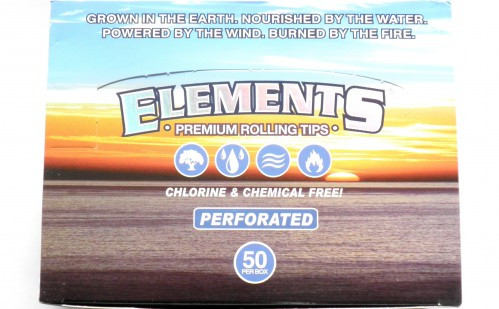 Elements Rolling Tips perforiert, Box 50 x 50