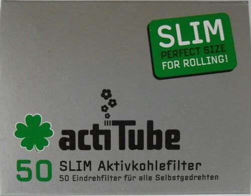 50 ActiTube Slim Aktivkohlefilter zum Eindrehen