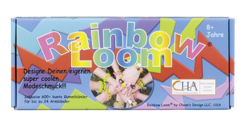 Rainbow Loom Starterset, Bastel Dir deine eigenen Armbänder, Ringe und und und...