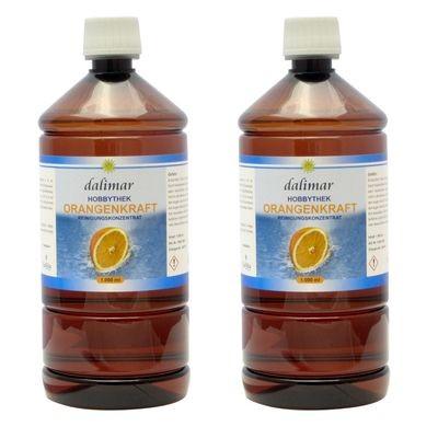 Orangenkraft HT 2 x 1,0 Liter Reiniger der Hobbythek