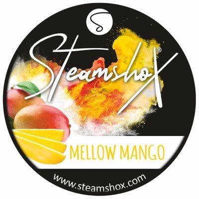 SteamshoX® Mellow Mango, Dampfsteine 140g Steingranulat (Steam Stones), nikotinfreier Tabakersatz