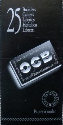 OCB Schwarz Premium No 4 kurz, BOX