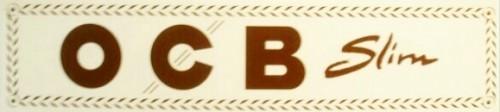 OCB Slim Weiß 1 Päckchen mit 32 Blättchen