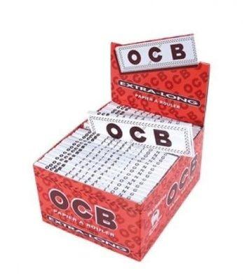 OCB Extra Long Weiß 50 x 32 Blättchen BOX (VE)