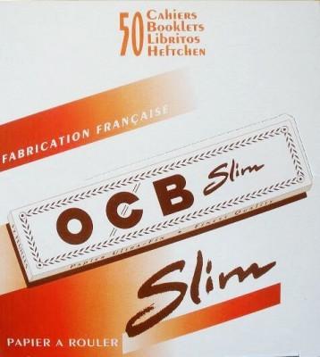 OCB Slim Weiß 50 x 32 Blättchen BOX (VE)