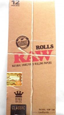 12 x 3m, RAW Rolls BOX